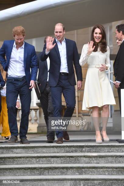 Prince Harry Prince William Duke of Cambridge and Catherine Duchess of Cambridge host Party at The Palace they are hosting a special party in the...