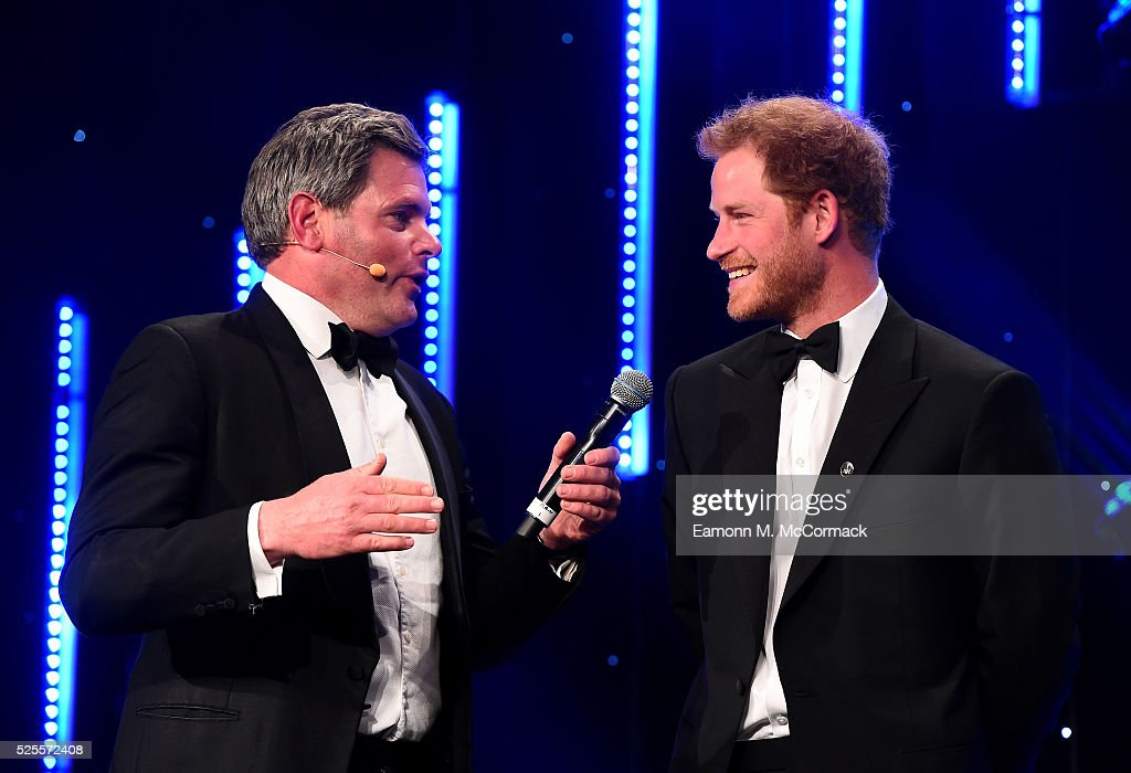 <a gi-track='captionPersonalityLinkClicked' href=/galleries/search?phrase=Prince+Harry&family=editorial&specificpeople=178173 ng-click='$event.stopPropagation()'>Prince Harry</a> talks with Mark Durden-Smith about the Invictus Games at Battersea Evolution on April 28, 2016 in London, England. The BT Sport Industry Awards is the most prestigious commercial sports awards ceremony in Europe, where over 1750 of the industry's key decision-makers mix with high profile sporting celebrities for the most important networking occasion in the sport business calendar.