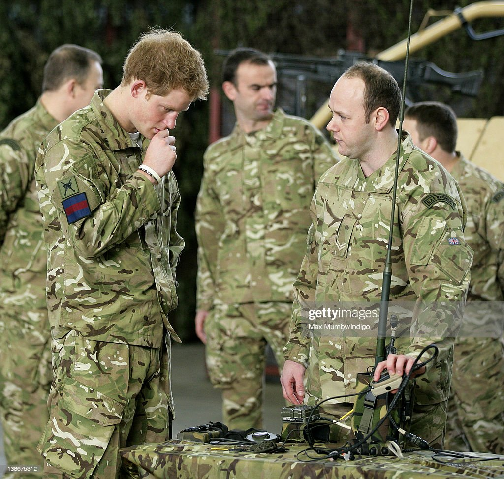 Prince Harry (in His Role As Honorary Air Commandant) (L