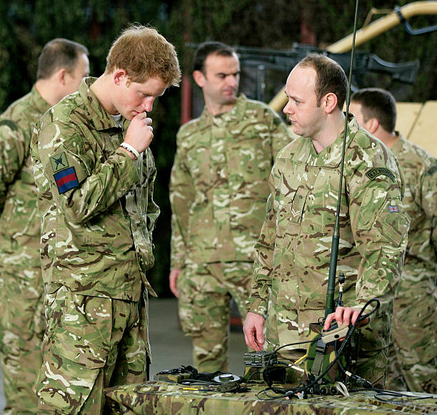 Prince Harry Visits RAF Honington Photos And Images