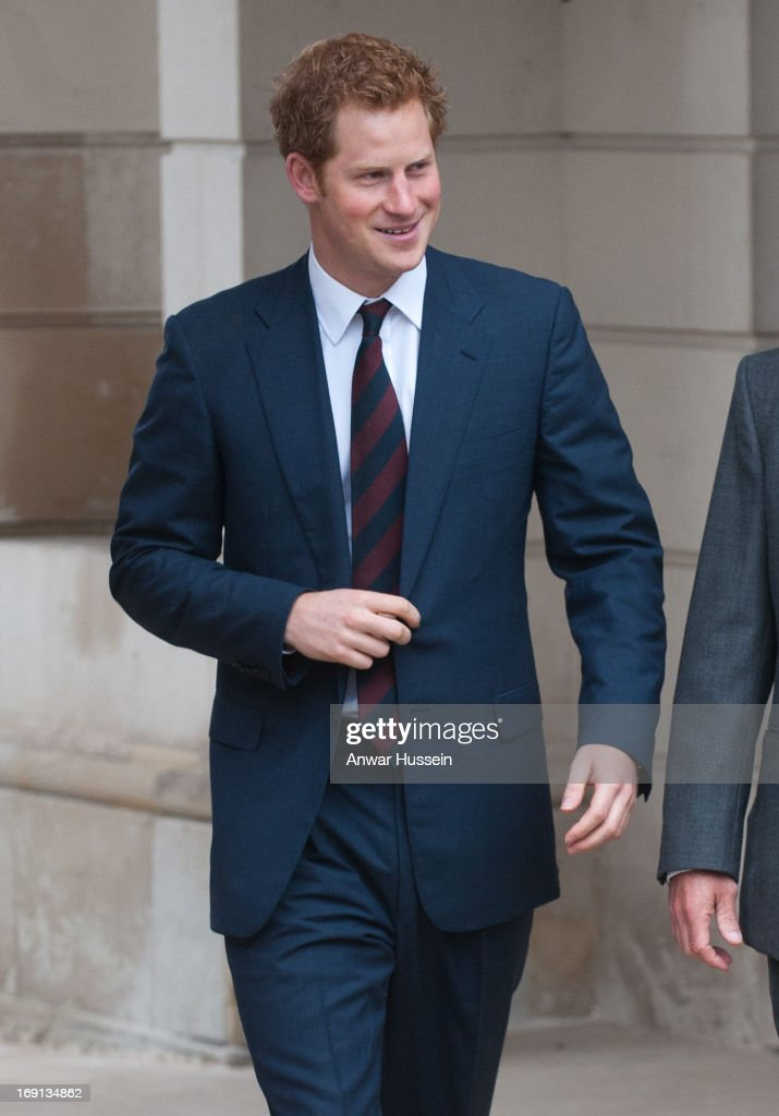 <a gi-track='captionPersonalityLinkClicked' href=/galleries/search?phrase=Prince+Harry&family=editorial&specificpeople=178173 ng-click='$event.stopPropagation()'>Prince Harry</a> visits Help For Heroes Recovery Centre at Tedworth House on May 20, 2013 in Tidworth, England.