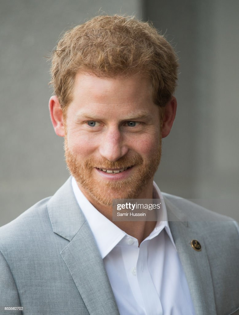 Prince Harry visits the Canadian Institute for Military and Veterans Mental Health Research (CIMVHR) conference on day 3 of the Invictus Games Toronto 2017 on September 25, 2017 in Toronto, Canada. The Games use the power of sport to inspire recovery, support rehabilitation and generate a wider understanding and respect for the Armed Forces.