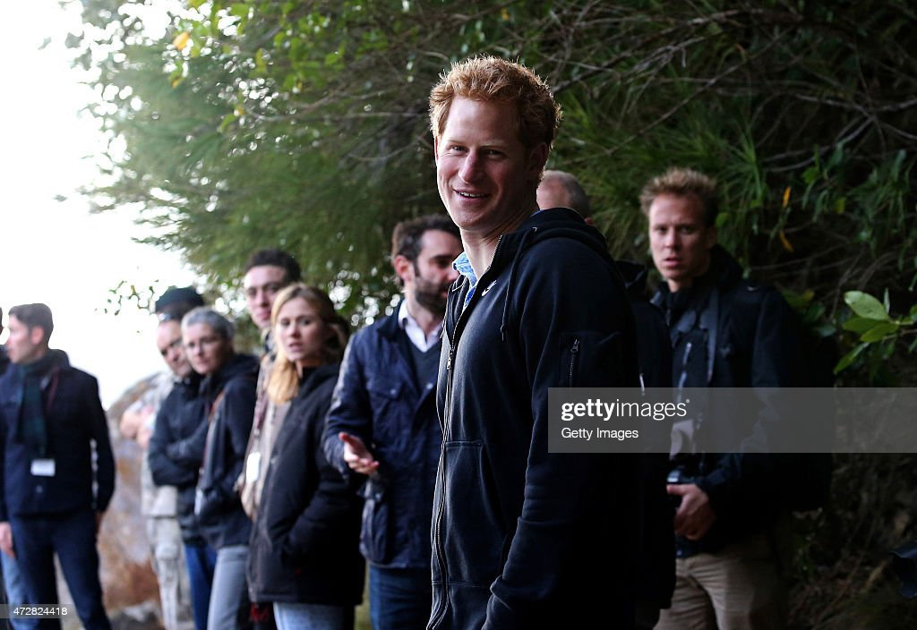 Prince Harry visits Ulva Island as part of his first visit to New Zealand on May 10, 2015 in Ulva Island, New Zealand. Prince Harry is in New Zealand from May 9 through to May 16 attending events in Wellington, Invercargill, Stewart Island, Christchurch, Linton, Whanganui and Auckland.
