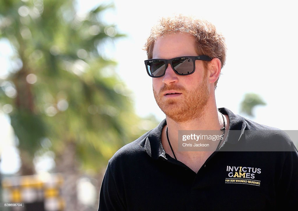 Prince Harry visits venues ahead of Invictus Games Orlando 2016 at ESPN Wide World of Sports on May 6, 2016 in Orlando, Florida. Prince Harry, patron of the Invictus Games Foundation is in Orlando ahead of the opening of Invictus Games which will open on Sunday. The Invictus Games is the only International sporting event for wounded, injured and sick servicemen and women. Started in 2014 by Prince Harry the Invictus Games uses the power of Sport to inspire recovery and support rehabilitation.