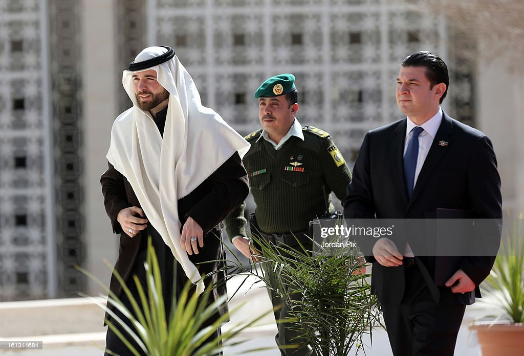 Prince Hashim Bin Al Hussein arrives as Jordan's King Abdullah inaugurates the newly elected parliament on February 10, 2013 in Amman, Jordan. The King addressed the parliament with a pledge to move forward with democratization, adding that he will help choose the next prime minister.