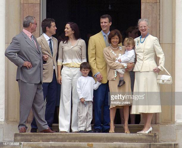 Prince Henrik Crown Prince Frederik Crown Princess Mary Queen Margrethe Ii Prince Joachim Princess Alexandra Prince Nikolai Prince Felix Of Denmark...