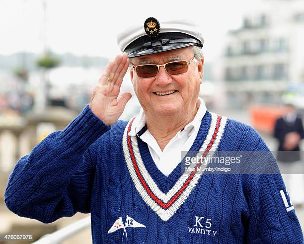 Prince Henrik of Denmark attends the Bicentenary Celebrations of The Royal Yacht Squadron on June 5 2015 in Cowes England