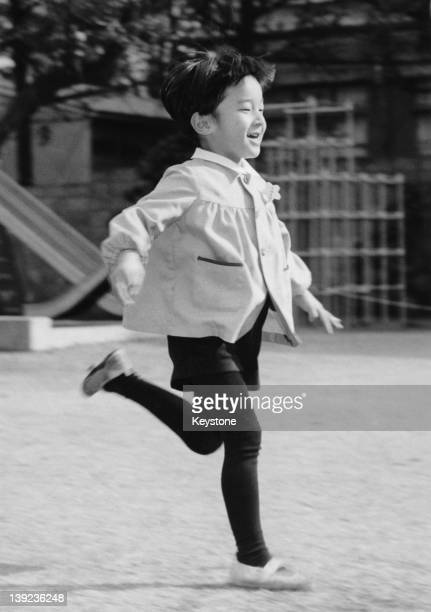 Prince Hiro aka Prince Naruhito of Japan shortly before his 6th birthday in Tokyo February 1966