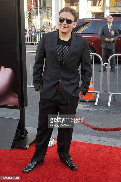 Prince Jackson arrives at HBO's 'True Blood' final season premiere at TCL Chinese Theatre on June 17 2014 in Hollywood California