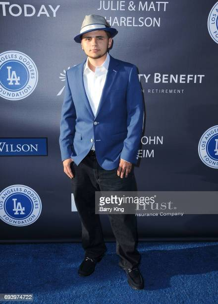 Prince Jackson attends Los Angeles Dodgers Foundation's 3rd Annual Blue Diamond Gala at Dodger Stadium on June 8 2017 in Los Angeles California