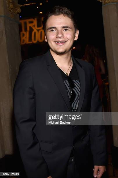 Prince Jackson attends Premiere Of HBO's 'True Blood' Season 7 And Final Season After Party on June 17 2014 in Hollywood California