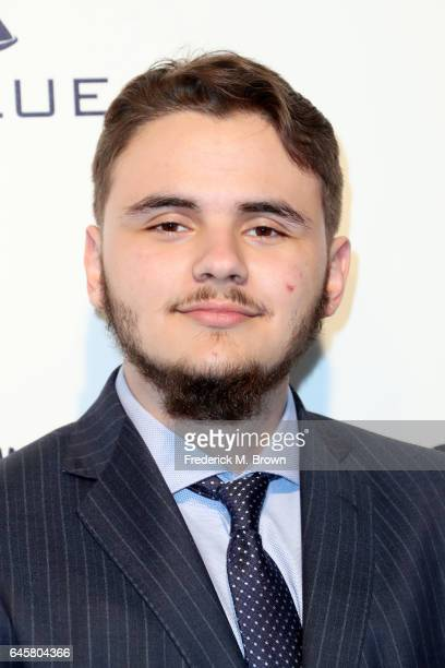 Prince Jackson attends the 25th Annual Elton John AIDS Foundation's Academy Awards Viewing Party at The City of West Hollywood Park on February 26...