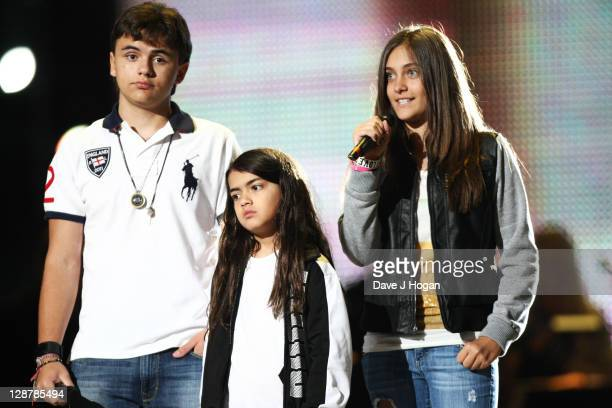 Prince Jackson Blanket Jackson and Paris Jackson rehearse for the 'Michael Forever' concert to remember the late Michael Jackson at The Millenium...