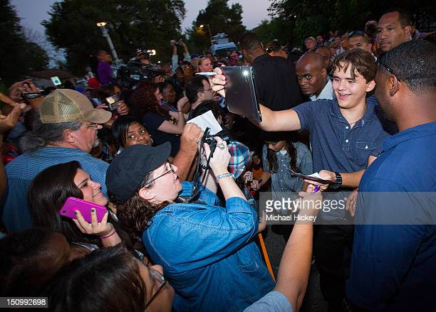 Prince Jackson is seen at Childhood Home of Michael Jackson on August 29 2012 in Gary Indiana