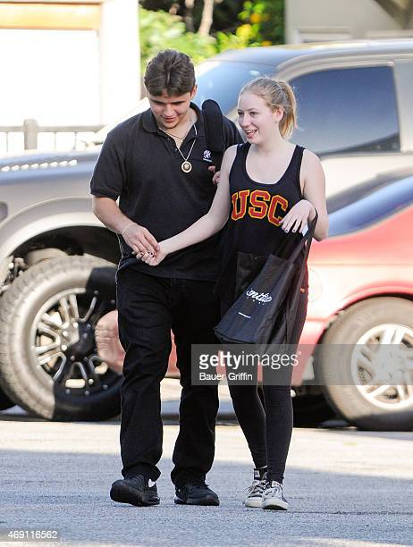 Prince Jackson is seen on April 09 2015 in Los Angeles California
