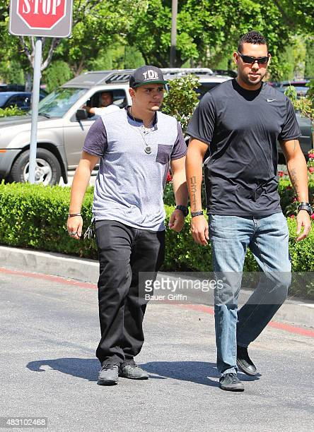 Prince Jackson is seen on August 05 2015 in Los Angeles California