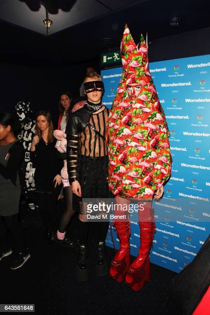 Prince JasonJason and guests attend the Wonderland Magazine x Google Pixel party at Tramp on February 21 2017 in London England
