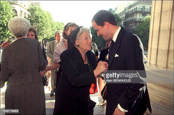 Prince Jean Of French Cancels Plans To Wed Duchess Tatiana Von Oldenburg in Paris France on June 19 2000