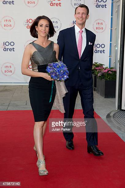 Prince Joachim and Princess Marie of Denmark attend The Parliament and Government's Celebration of The 100th Anniversary of The 1915 Danish...