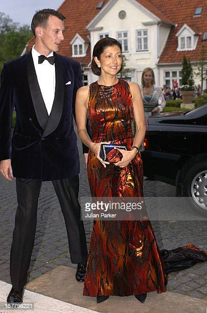 Prince Joachim Princess Alexandra Of Denmark Attends A Gala Dinner Giver By The Governor Genral Of Australia At The Store Kro Hotel In Fredensborg