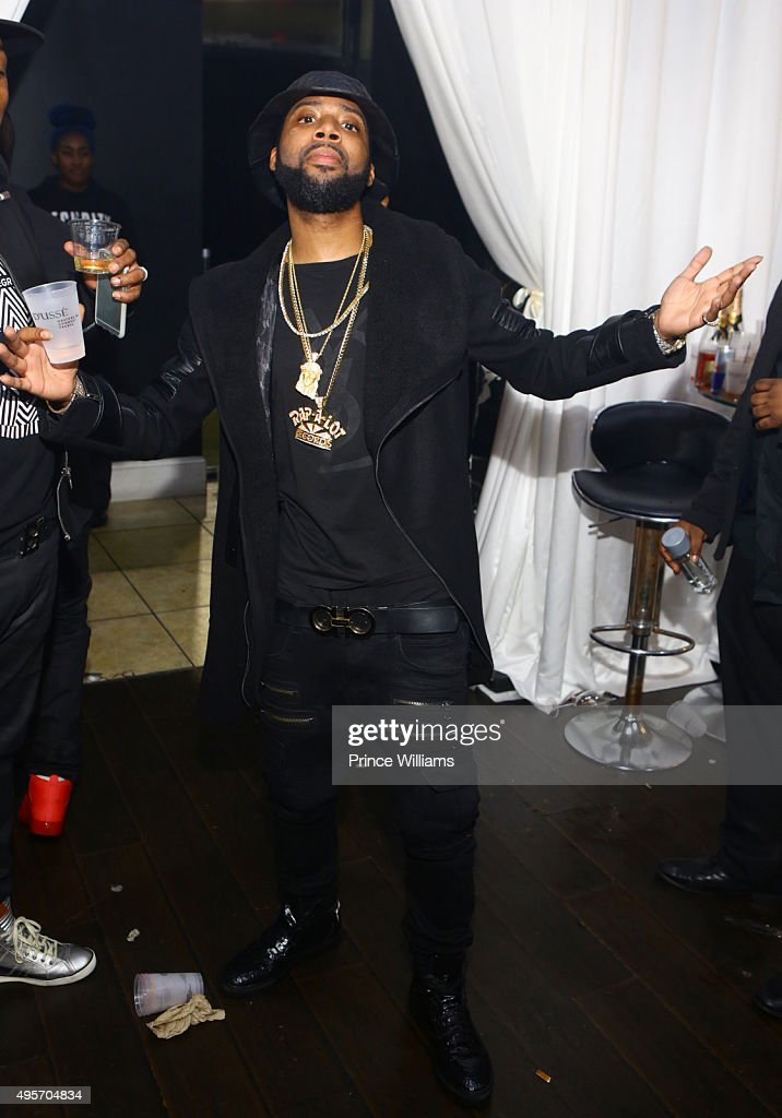 J Prince Jr Attends All Black Affair For Mr Rugs U0026 Toya Wright Birthday  Celebration At