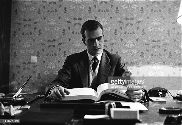 Prince Juan Carlos future King of Spain in Spain on January 14th 1964
