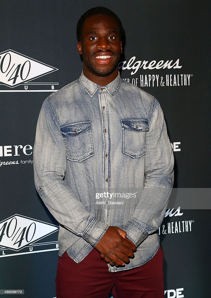Prince Kelechi Amukamara attends the Go N'Syde 40/40 Bottle Launch Party at the 40 / 40 Club on June 12, 2014 in New York City.