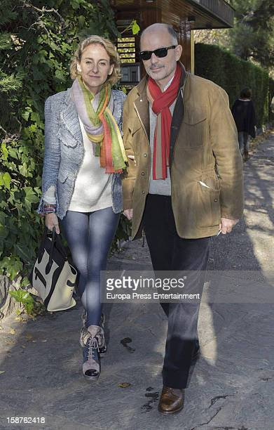 Prince Kubrac of Bulgaria and Carla RoyoVillanova visit Prince Kardam of Bulgaria in his 50th birthday on December 2 2012 in Madrid Spain The eldest...