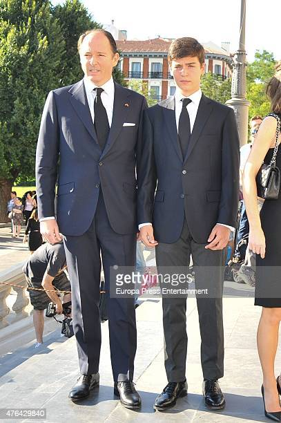 Prince Kubrat of Bulgaria attends the memorial service for Prince Kardam of Bulgaria at San Jeronimo el Real church on June 8 2015 in Madrid Spain