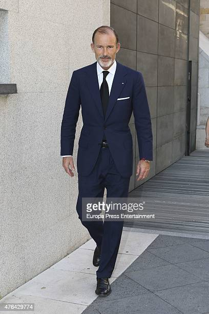 Prince Kyril of Bulgaria attends the memorial service for Prince Kardam of Bulgaria at San Jeronimo el Real church on June 8 2015 in Madrid Spain
