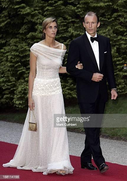 Prince Kyril Princess Rosario Of Bulgaria Attend The Silver Wedding Anniversary Celebrations Of Grand Duke Henri Grand Duchess MariaTheresa Of...