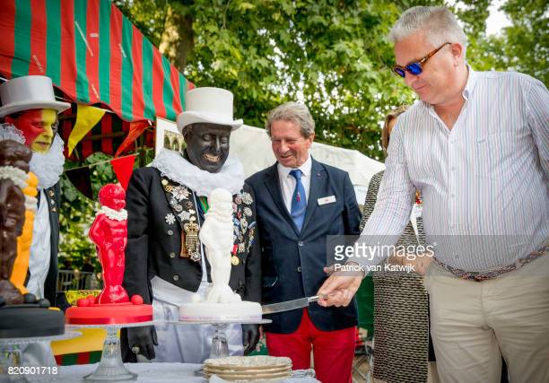 Prince Laurent of Belgium attends the festivities in the Warandepark on the occasion of the Belgian National Day in the Cathedral on July 21 2017 in...