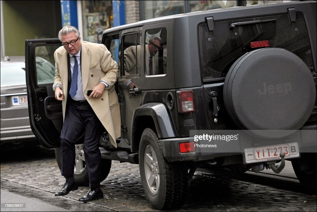 <a gi-track='captionPersonalityLinkClicked' href=/galleries/search?phrase=Prince+Laurent+of+Belgium&family=editorial&specificpeople=786930 ng-click='$event.stopPropagation()'>Prince Laurent of Belgium</a> is seen stepping out of his SUV during his visit to his new dispensary on December 18, 2012 in Gent, Belgium. His dispensary has been created by the Prince Laurent Foundation.