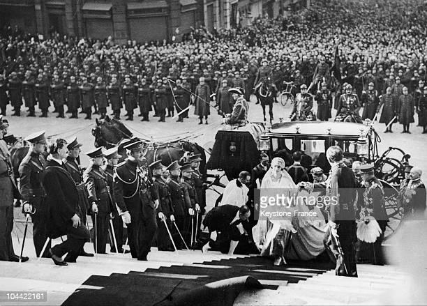 Prince Leopold Iii Of Belgium Married Astrid Of Belgium In Stockholm On November 4 1926