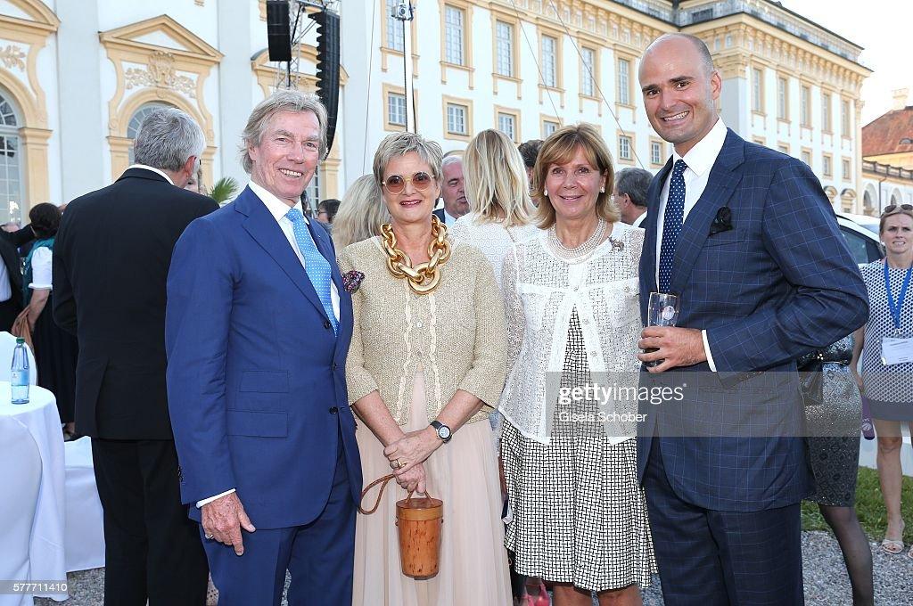 Bavarian State Parliament Summer Reception At Schleissheim Palace