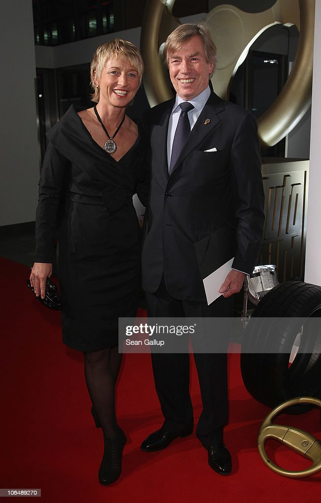 prince leopold von bayern and race car driver isolde holderied attend the 2010 das goldene. Black Bedroom Furniture Sets. Home Design Ideas