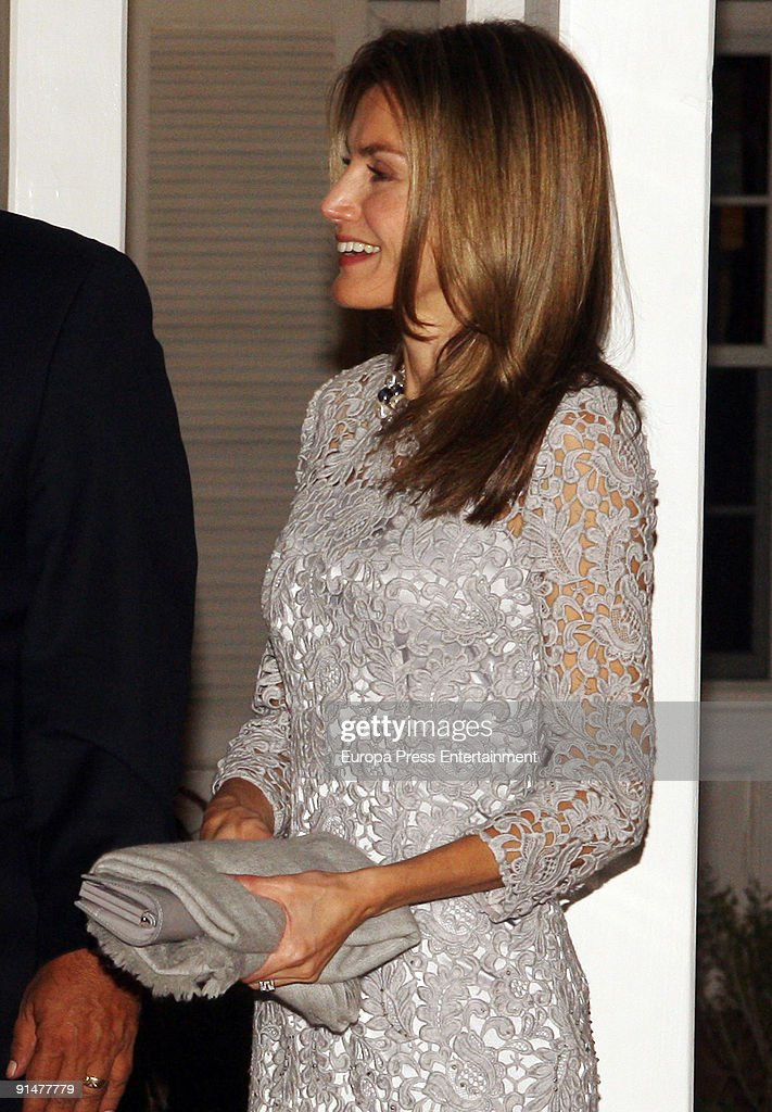 Prince Letizia at Governor Residence on October 5, 2009 in Albuquerque, New Mexico. The Spanish Royals were in town to commemorate Santa Fe, New Mexico's 400th Anniversary.
