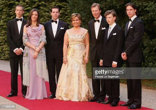 Prince Louis of Luxembourg Princess Alexandra of Luxembourg Prince Guillaume of Luuxembourg Duchess Maria Teresa of Luxembourg Grand Duke Henri of...