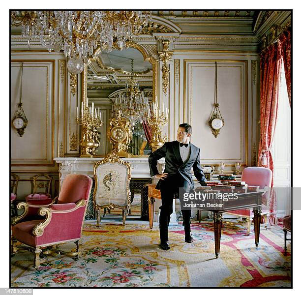 Prince Luis Alfonso de Borbon Duke of Anjou poses for Vanity Fair Spain on March 29 2011 at at the Palacio de Fernan Nunez in Madrid Spain