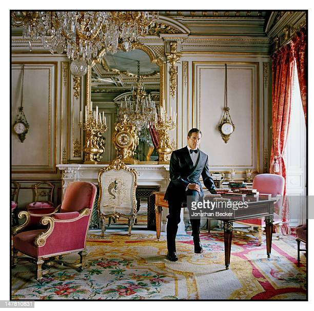 Prince Luis Alfonso de Borbon Duke of Anjou poses for Vanity Fair Spain on March 29 2011 at at the Palacio de Fernan Nunez in Madrid Spain PUBLISHED...
