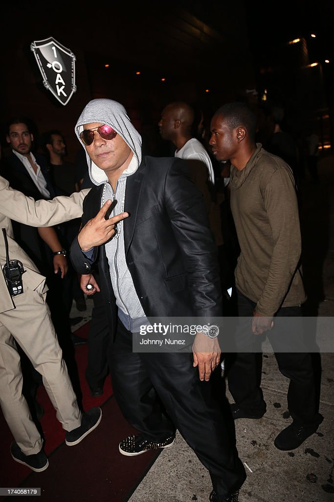 Prince Malik attends the Lil Wayne Tour After Party at 1OAK on July 19, 2013 in New York City.