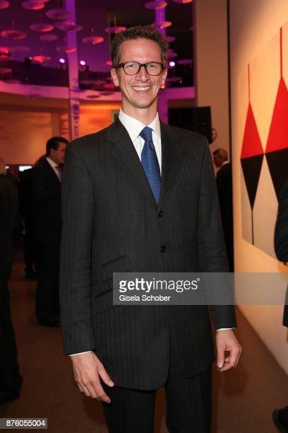 Prince Manuel von Bayern during the PIN Party 'Let's party 4 art' at Pinakothek der Moderne on November 18 2017 in Munich Germany