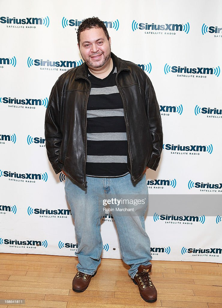 Prince Markie Dee visits the SiriusXM Studios on December 18, 2012 in New York City.