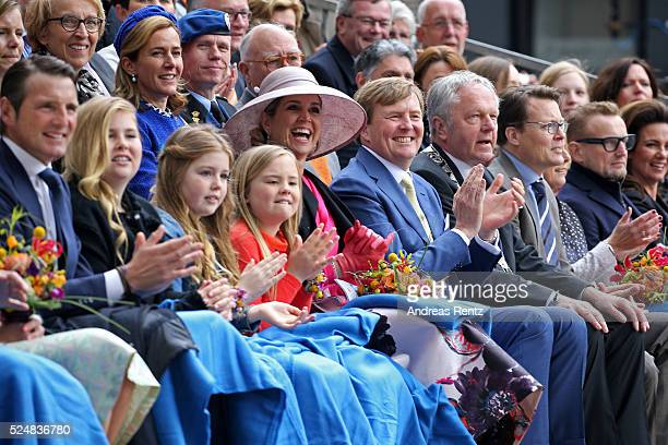 Prince Maurits of The Netherlands Crown Princess CatharinaAmalia of The Netherlands Princess Alexia of The Netherlands Princess Ariane of The...
