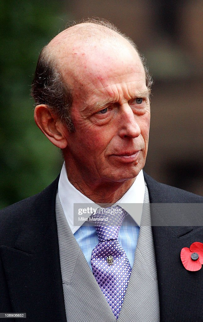 Prince Michael Duke of Kent at the wedding of Lady Tamara, the eldest daughter of The Duke and Duchess of Westminster, and Edward van Cutsem at Chester Cathedral on Saturday November 6, 2004