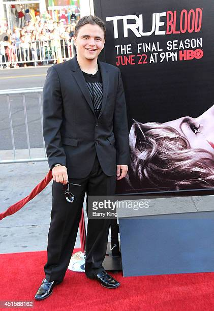 Prince Michael Jackson arrives at HBO's 'True Blood' Final Season Premiere on June 17 2014 at TCL Chinese Theatre in Hollywood California