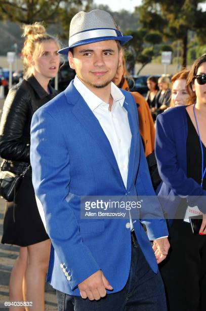 Prince Michael Jackson attends Los Angeles Dodgers Foundation's 3rd Annual Blue Diamond Gala at Dodger Stadium on June 8 2017 in Los Angeles...