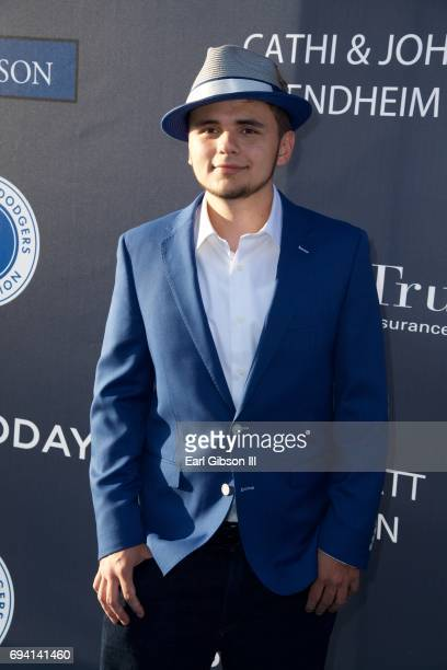 Prince Michael Jackson attends the Los Angeles Dodgers Foundation's 3rd Annual Blue Diamond Gala at Dodger Stadium on June 8 2017 in Los Angeles...