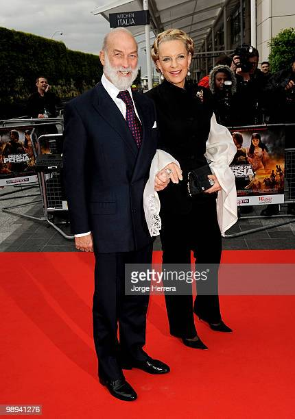 Prince Michael of Kent and HRH Princess Michael of Kent attend the World Premiere of 'Prince of Persia The Sands of Time' at the Vue Westfield on May...