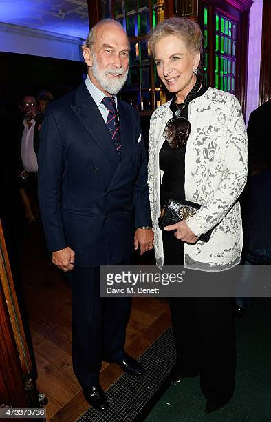 Prince Michael of Kent and Princess Michael of Kent attend Brown's Hotel Summer Party attend Brown's Hotel May 14 2015 in London England
